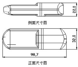 昆仑海岸推出Ⅰ型USB温度记录仪(UT-Ⅰ)